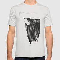 Snow Girl Mens Fitted Tee Silver SMALL