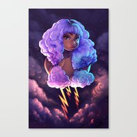 Nube Canvas Print