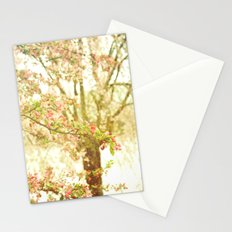 She Dreamed of Flowers in Her Hair Stationery Cards