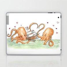 Octopus Valentine  Laptop & iPad Skin