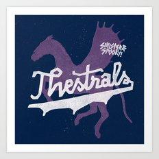 Thestrals Art Print