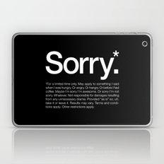Sorry.* For a limited time only. Laptop & iPad Skin