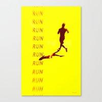 Run Run Run Canvas Print