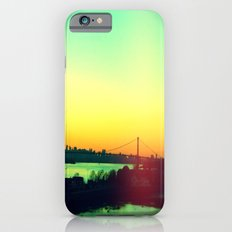 sunset in NYC iPhone 6 Slim Case