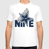 I Am Number 9 Mens Fitted Tee White SMALL