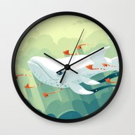 Nightbringer 2 Wall Clock