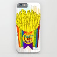 iPhone & iPod Case featuring The First Place FRIES by Elizabeth Cakovan
