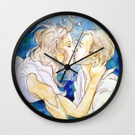 Underwater Kiss Wall Clock