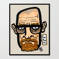 The One Who Knocks Canvas Print