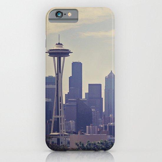 Seattle Skyline iPhone & iPod Case