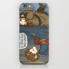 Bilbo The Burglar iPhone 6 Slim Case