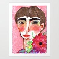 Cameo #6 Art Print