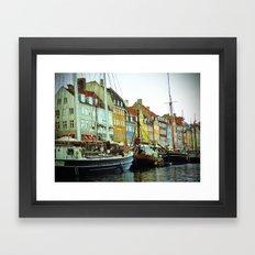Denmark Framed Art Print