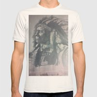 Indian Spirit Mens Fitted Tee Natural SMALL
