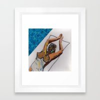 While We Can Framed Art Print