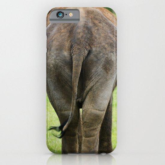 Elephants Rear iPhone & iPod Case