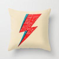 Face The Strange Throw Pillow
