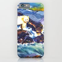 iPhone & iPod Case featuring Sunset ♥ Bear by Olives Lo