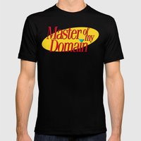 Master Of My Domain Mens Fitted Tee Black SMALL