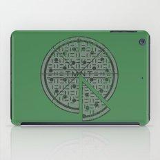 Slice of sewer life iPad Case