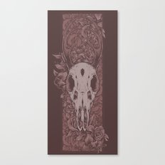 Dried Up Red Canvas Print
