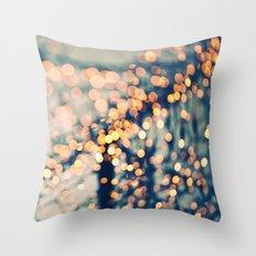 Sea of Lights Throw Pillow