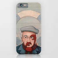 iPhone & iPod Case featuring Crab Beard by Kiki Stardust (OLD)
