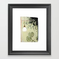 Indoor Landscape I Framed Art Print