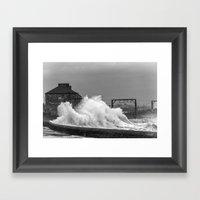 Stevenston Storms Framed Art Print