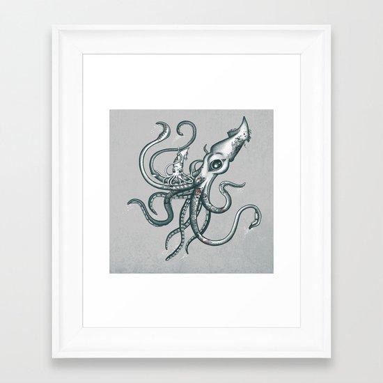 The New Ink Framed Art Print