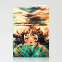 movie Stationery Cards featuring The River by Alice X. Zhang