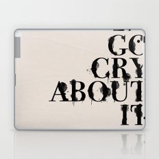 Cry Laptop & iPad Skin