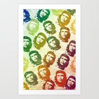 Rainbow Revolution Art Print