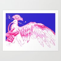 Like Soaring Thru The He… Art Print