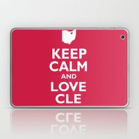 Keep Calm and Love CLE Laptop & iPad Skin
