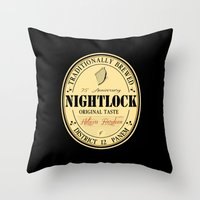 Lovely day for a Nightlock Throw Pillow