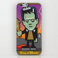 King Of Wands iPhone & iPod Skin