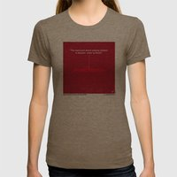 No198 My The Hunt for Red October minimal movie poster Womens Fitted Tee Tri-Coffee SMALL