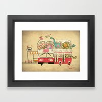Hakuna Matata, The Child… Framed Art Print