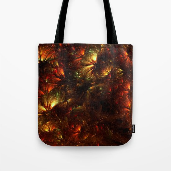 Fire-Flowers Tote Bag
