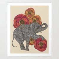 Rosebud Art Print