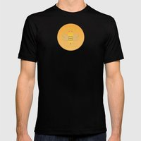 Bee Suave Mens Fitted Tee Black SMALL