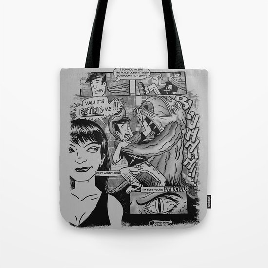 From the pages of... Tote Bag