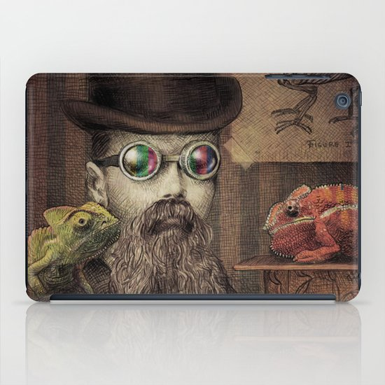The Chameleon Collector iPad Case