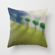 Brushed Nature Throw Pillow