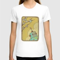 robot T-shirts featuring Robot by Willow Dawson