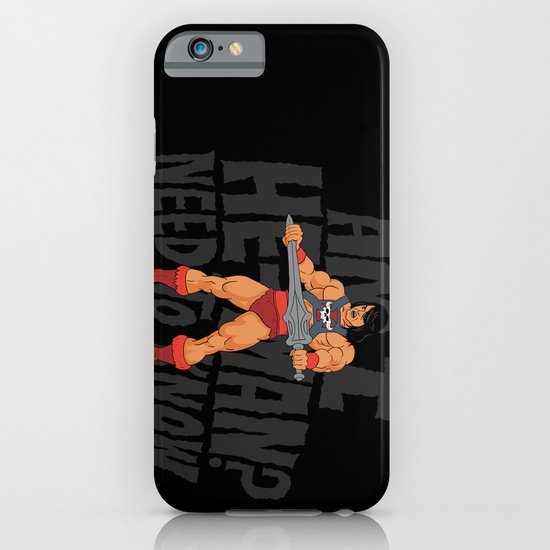 Am I He-Man? iPhone & iPod Case