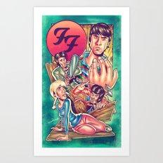 Waiting For FF Everlong Art Print