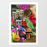 Puerto Rico - Isla Del E… Art Print