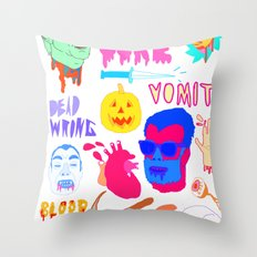 Super Gore Throw Pillow